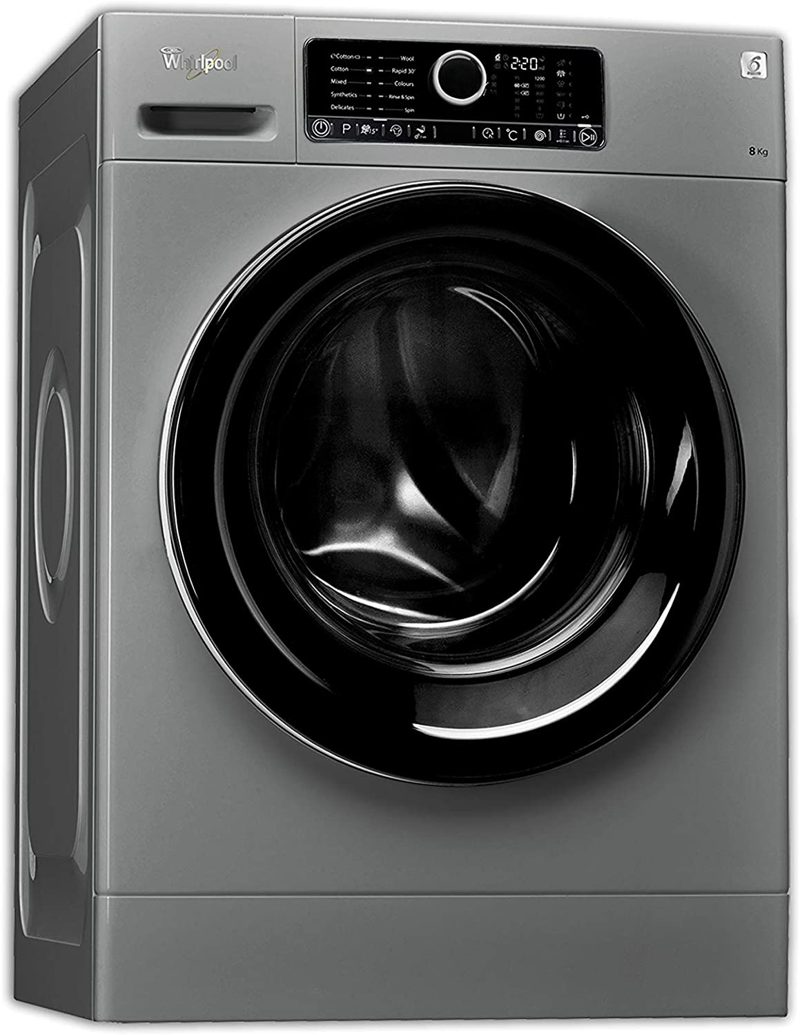 Whirlpool Front Load Washing Machine 8 Kg Capacity