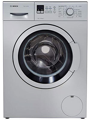Bosch 7 kg - best fully automatic front loading washing machine in india