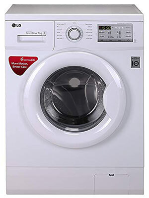 LG 6 Kg Inverter - best front load washing machine under 25000