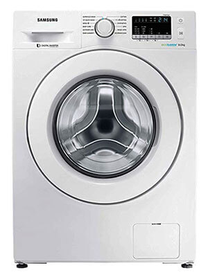 Samsung 8 kg Inverter Fully-Automatic Front Loading Washing Machine Review