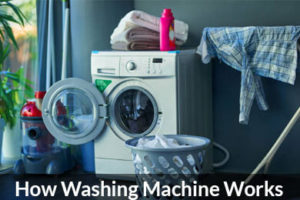 Working Principle Of Washing Machine